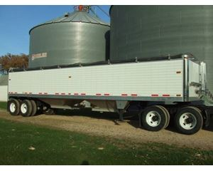 Timpte Grain Hopper Trailer 38FT, Aluminum, Closed Axle