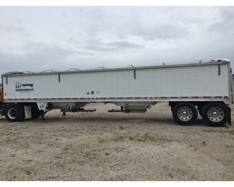 2008 wilson grain hopper trailer 41x96x66, aluminum ... abs trailer wiring diagrams wilson hopper trailer wiring diagrams