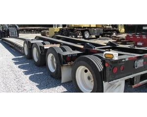 Fontaine Lowboy Trailer 28x102, Quad Axle