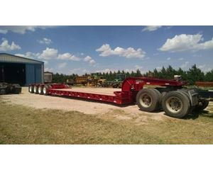 Fontaine Lowboy Trailer 57x102, Quad Axle