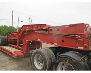 Fontaine Lowboy Trailer 5 Axle, Hydraulic Detachable