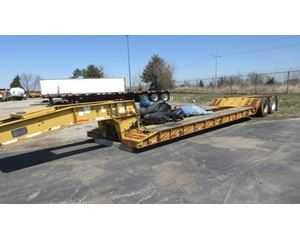 Witco Lowboy Trailer Mechanical Detach, Closed Axle