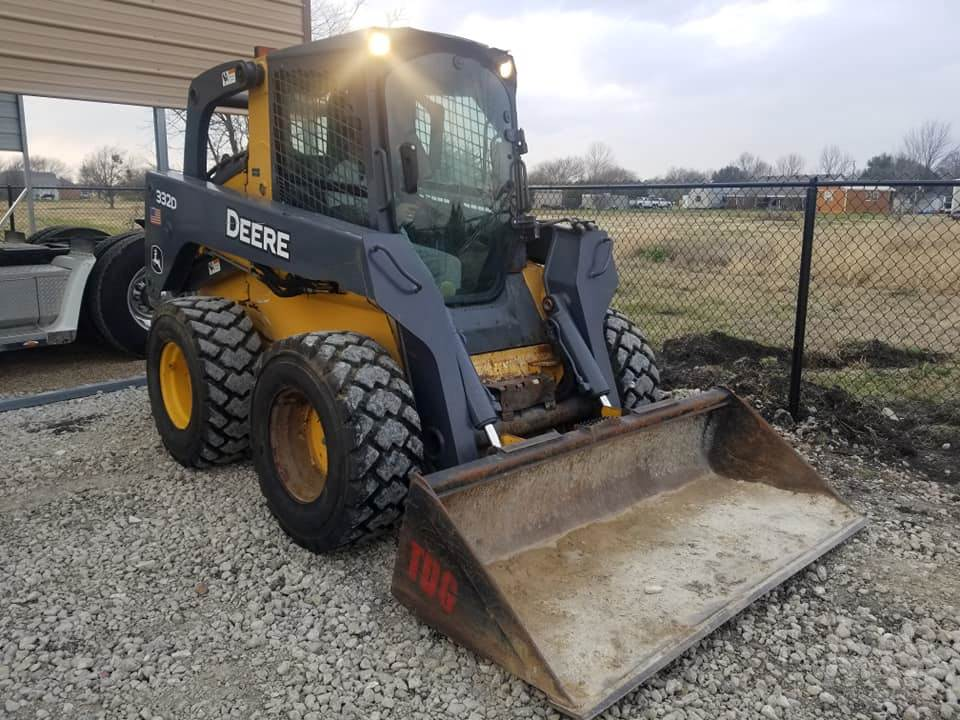 John Deere Skid Steer >> 2012 John Deere 332d Skid Steer 2 900 Hours 2 Speed A C