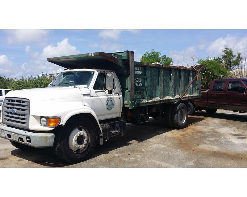 Ford F Series Medium Duty Dump Truck For Sale | Opa Locka, FL | 23 ...