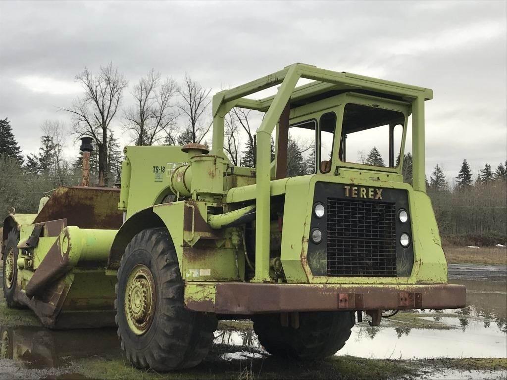 1972 Terex TS18 Scraper