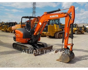 Kubota KX040-4 Crawler Excavator