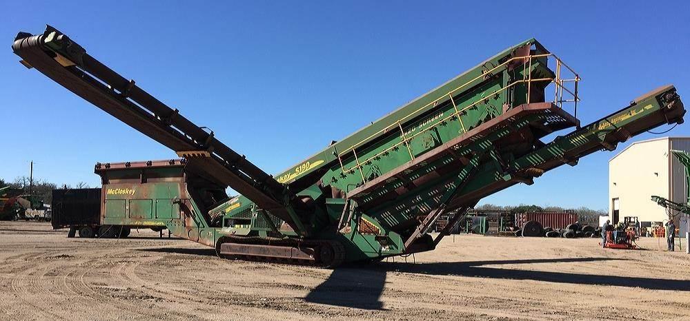 2012 McCloskey S190 Screen For Sale, 13,296 Hours   La Grange, TX   8987695    MyLittleSalesman com
