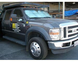 Ford F450 Lariat Crew cab Concrete Pump Truck