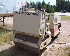 Ingersoll-Rand DA-40 Tandem Vibratory Smooth Drum Roller