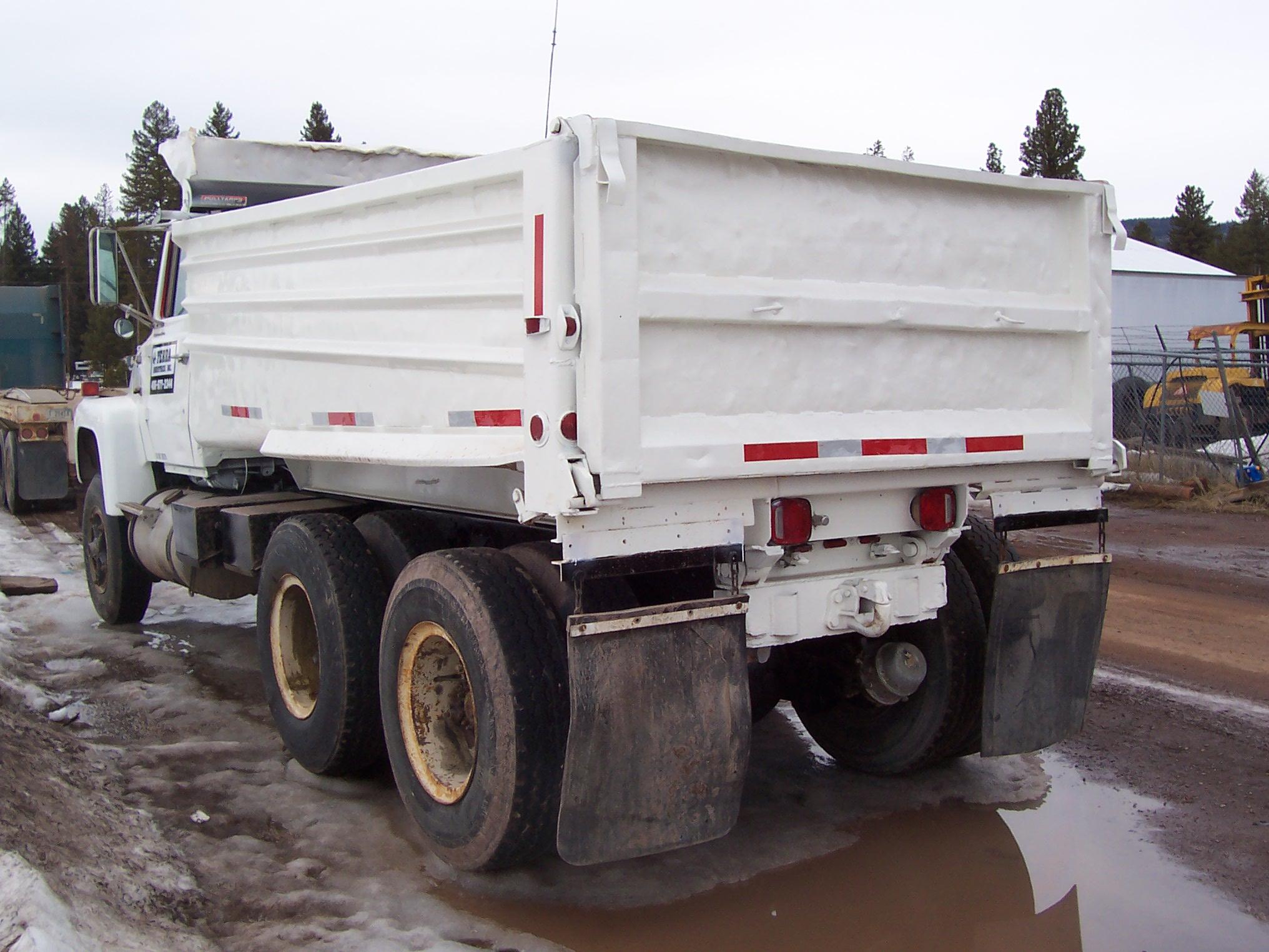 1979 ford lt9000 dump truck for sale seely lake mt 236784. Black Bedroom Furniture Sets. Home Design Ideas