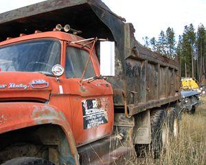 Ford T850 Dump Truck