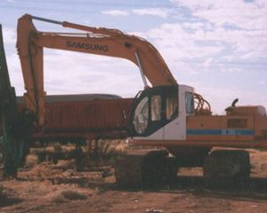 Samsung SE280 LC Excavator