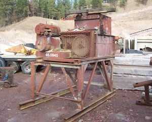 Reeves Pug Mixer Aggregate / Mining Equipment
