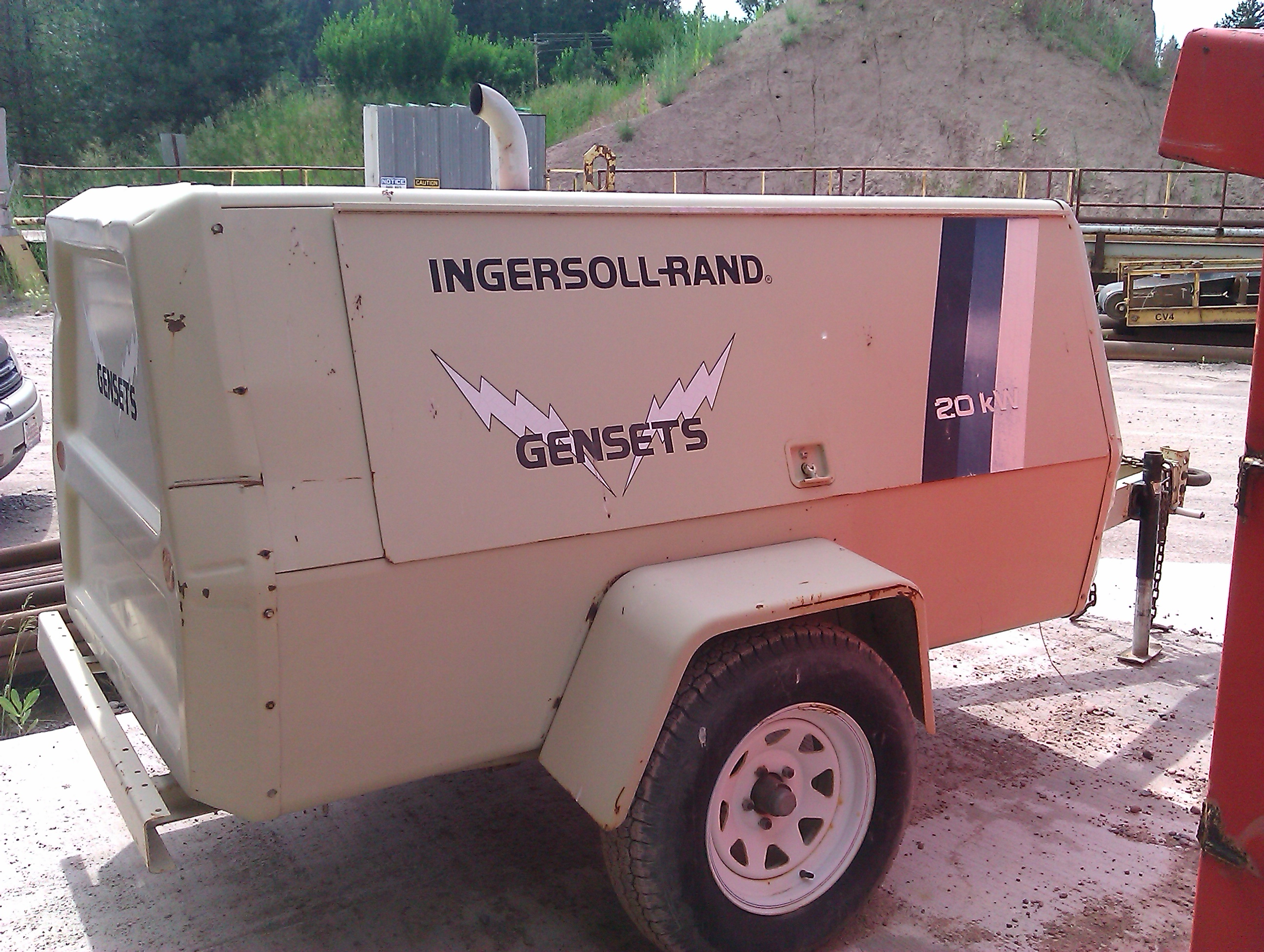 Ingersoll Rand 20 KW Generator Set For Sale