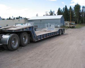 Load King 352DFP Hydraulic Detach Lowboy Trailer