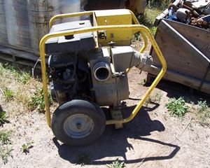 "Wacker pts-4v 4"" trash Pump"