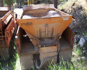 G M Plow and Sander Truck Snow Removal Equipment