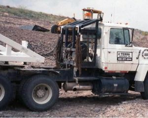 Ford LT9000 Winch Truck