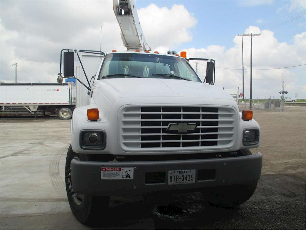 1997 chevrolet kodiak c6500 bucket boom truck for sale. Black Bedroom Furniture Sets. Home Design Ideas