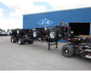 CIMC 20/40 Combo Container Trailer Chassis