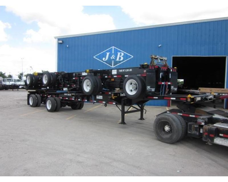 Container Chassis Landing Gear : Cimc combo container trailer chassis for sale
