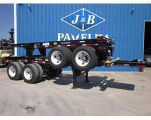 CIMC 23.5GN Tandem Slider Container Trailer Chassis