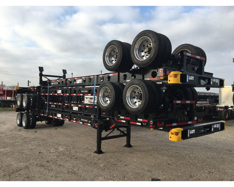 Container Chassis Lights : Cimc light weight container trailer chassis for