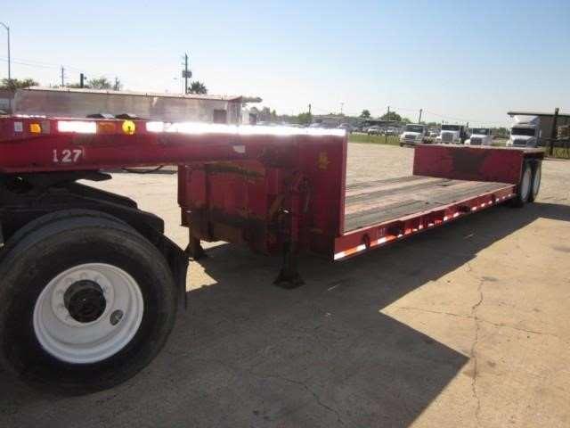 Double Drop Trailer : Loadcraft ton double drop trailer for sale