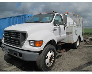 Ford F-750 Fuel / Lube Truck