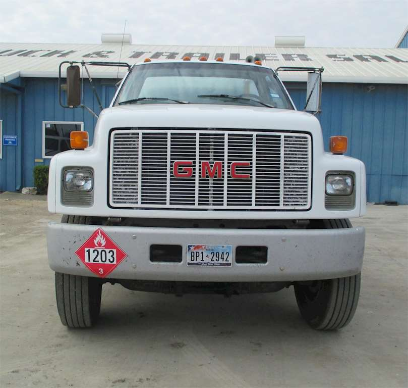 1992 Gmc Rally Wagon 1500 Exterior: 1992 GMC TOPKICK C4500 Fuel / Lube Truck For Sale, 142,000