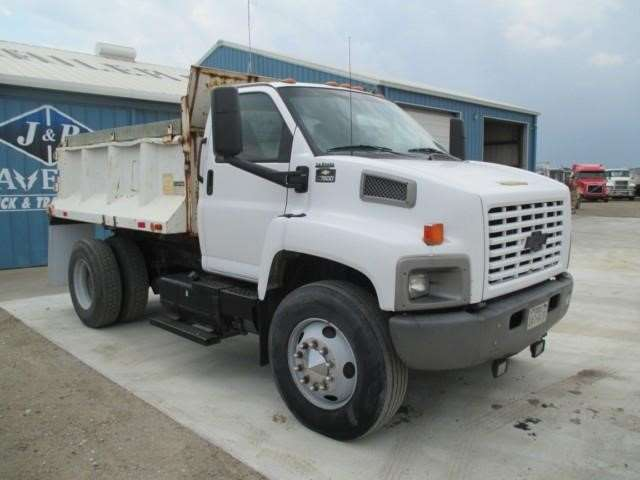 2003 chevrolet kodiak c7500 medium duty dump truck for. Black Bedroom Furniture Sets. Home Design Ideas