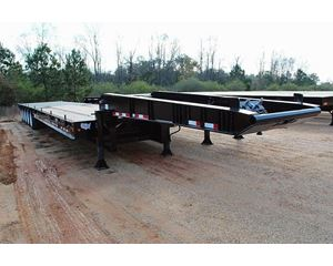 Wade 70 ton 5 Axle LowBoy Tail Roller Oil Field Trailer