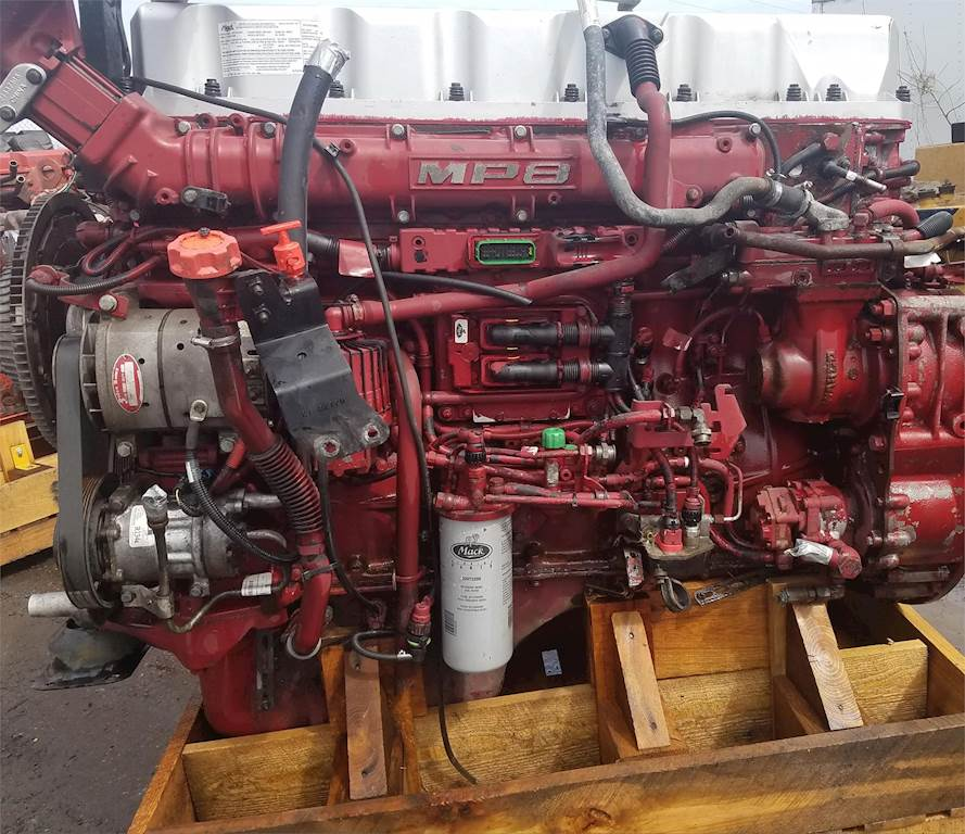 This Is A Volvo Engine Mack Mp8 Engine – Jerusalem House