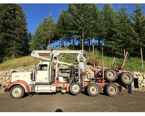 Kenworth W900L Logging Truck