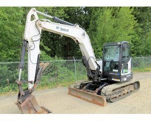 2009 Bobcat E80 Crawler Excavator