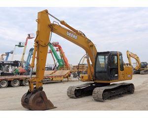 2002 John Deere 120C Crawler Excavator