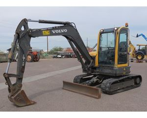 2012 Volvo ECR58 Crawler Excavator