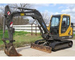 2007 Volvo EC55B PRO Mini Excavator