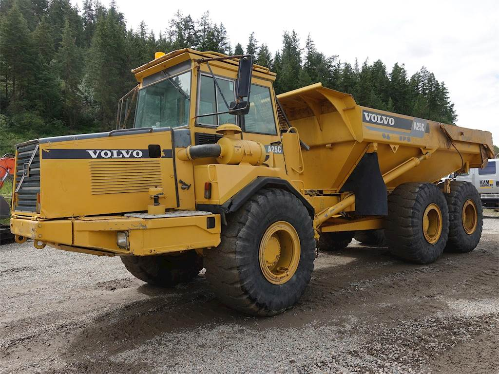 1999 Volvo A25C Articulated Truck For Sale, 12,600 Hours | Chase, BC