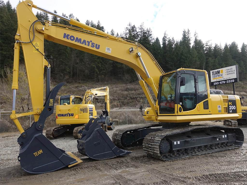 2018 Komatsu PC200LC-8 Excavator For Sale, 10 Hours   Chase, BC   9587443    MyLittleSalesman com