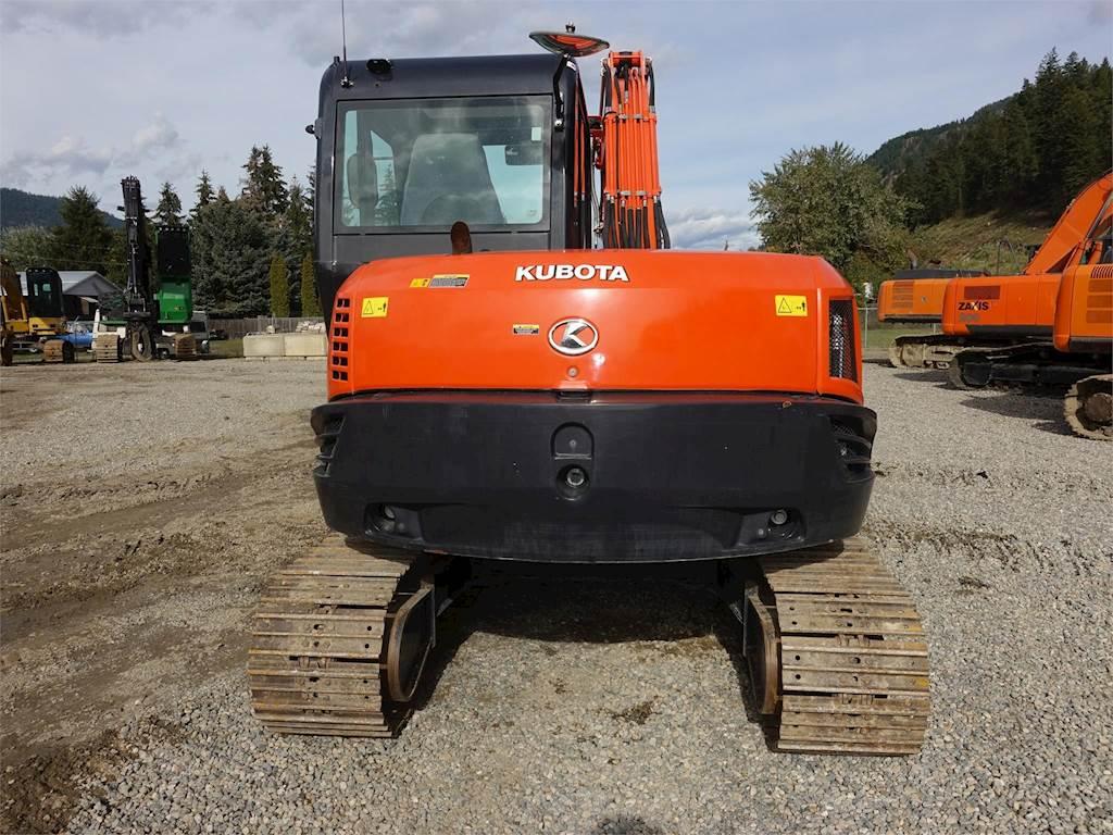 2014 Kubota KX080-4A Excavator