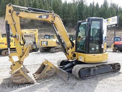 2018 Caterpillar 305E2 CR Mini Hydraulic Excavator