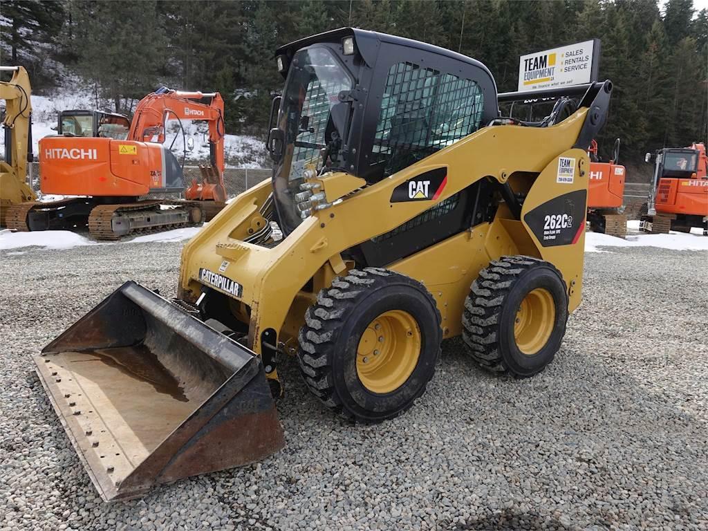 2013 Caterpillar 262c2 Skid Steer For Sale  1 500 Hours