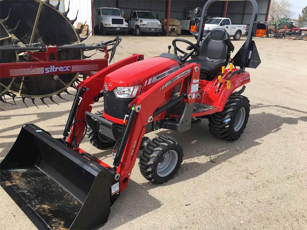 2019 Massey Ferguson GC1725M Tractor For Sale, 1 Hours | Fallon, NV |  9680797 | MyLittleSalesman com