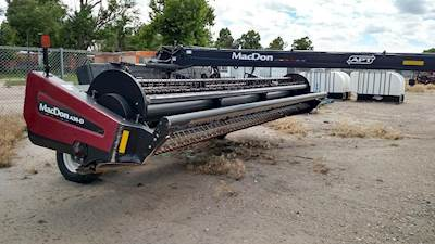 2014 MacDon R85 Windrower For Sale   Minot, ND   34105N