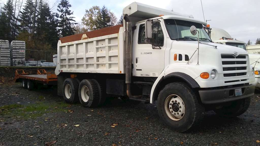 2000 Sterling Lt7501 Medium Duty Dump Truck For Sale  290 000 Miles