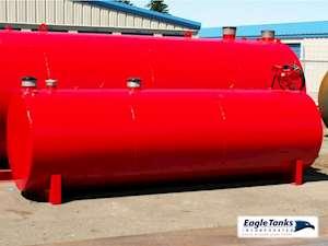 Eagle Tanks 1,000 Gallon Double Wall Horizontal UL 142 Fuel Tank