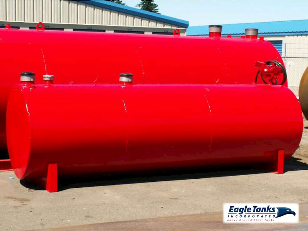 Eagle Tanks 1 000 Gallon Double Wall Horizontal Ul 142