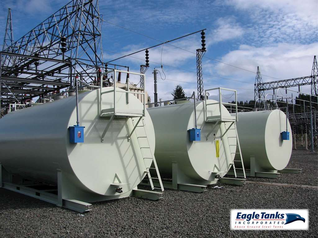 Eagle Tanks 10,000 Gallon Double Wall Horizontal UL 142 Above Ground Steel  Tank For Sale | Aumsville, OR | 9029466 | MyLittleSalesman com