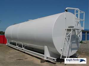 Eagle Tanks 20,000 Gallon Double Wall Horizontal UL 142 Fuel Tank